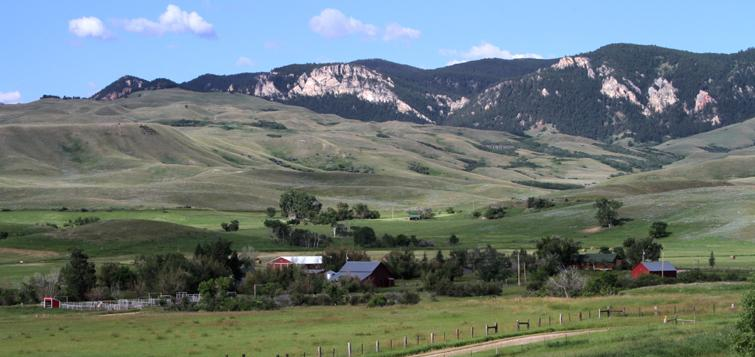 Little Piney Ranch Banner Wyoming Wyoming Ranch Vacations